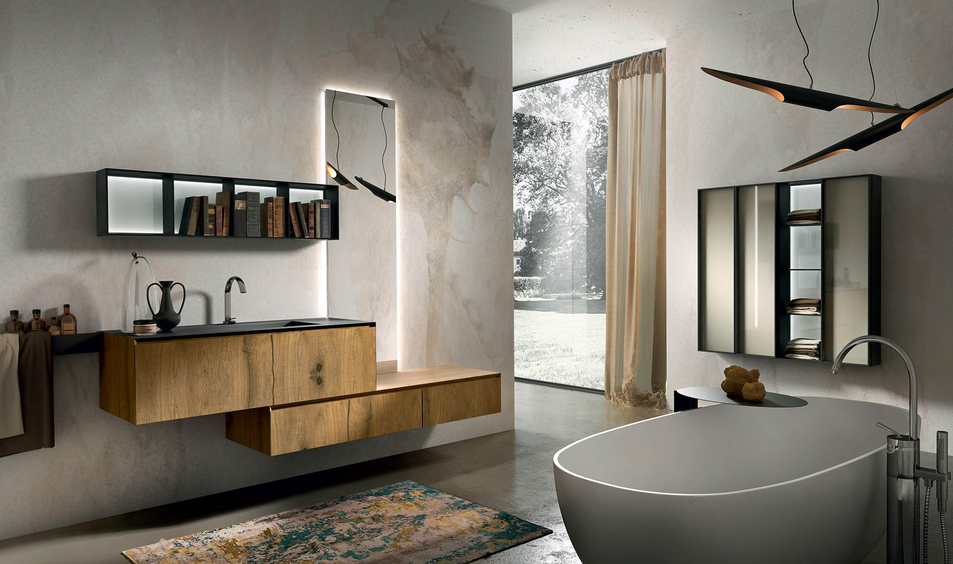 Arredo bagno perugia alfa group for Mobiletto design